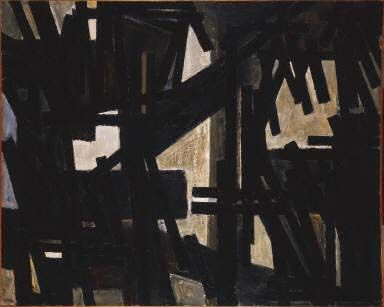 July 10, 1950 by Pierre Soulages
