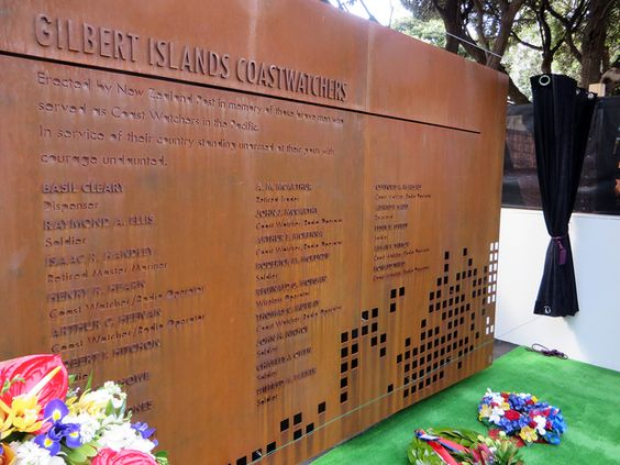 Gilbert Islands Coast Watchers Memorial