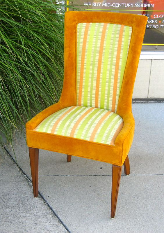 Hollywood Regency Club Chair