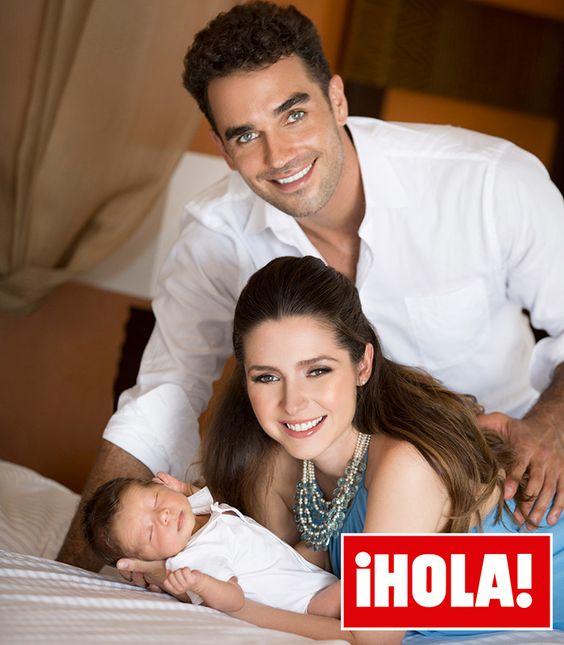 Ariadne Díaz sobre su hijo con Marcus Ornellas: 'Juntos aprendemos muchas cosas'