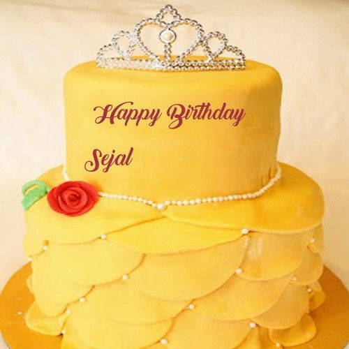 New Princess Queen Birthday Cake With Name Pictures Latest Kids
