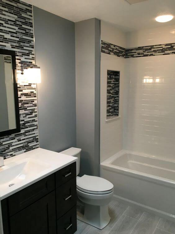 30 Eccentric Basement Bathroom Ideas 2019 You Cannot Miss Dovenda Small Bathroom Remodel Bathroom Remodel Designs Stylish Bathroom