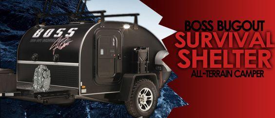 Mobile Bug Out Shelter : Boss bug out survival shelter preparation pinterest