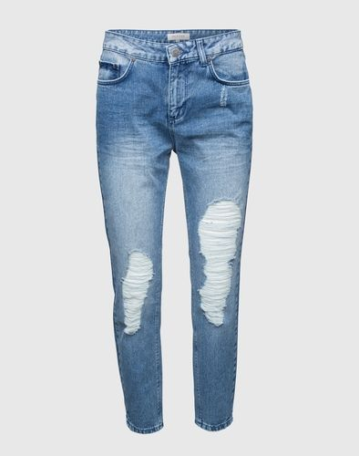 SELECTED FEMME Boyfriend Jeans Roxy Damen blau
