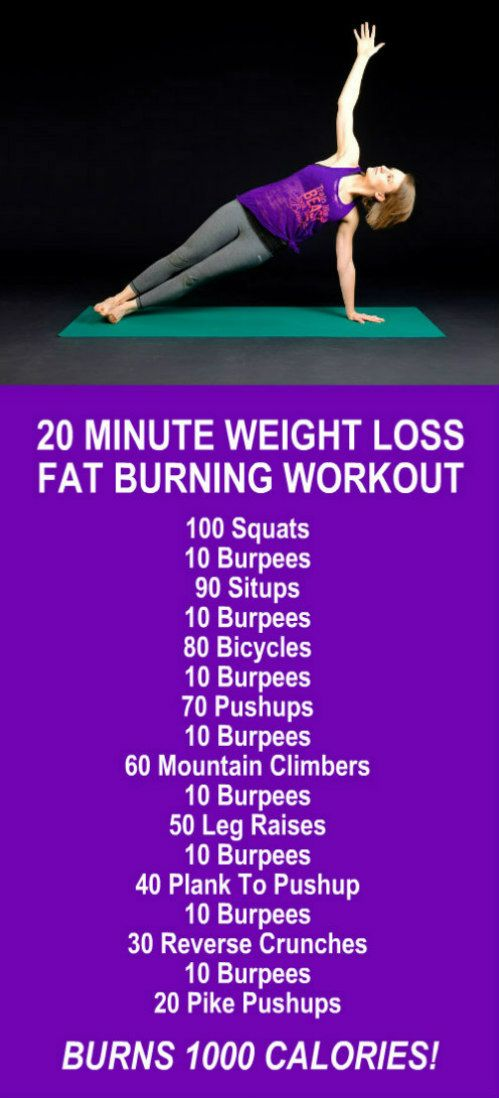 Mens belly fat burning workouts