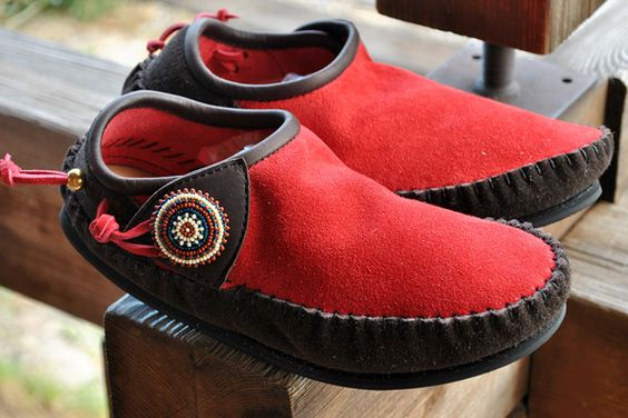 Indian moccasins