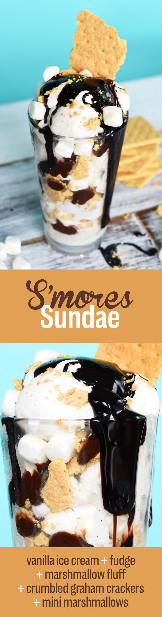 mores Sundae | 7 Insanely Delicious Sundaes You Need To Eat Before ...