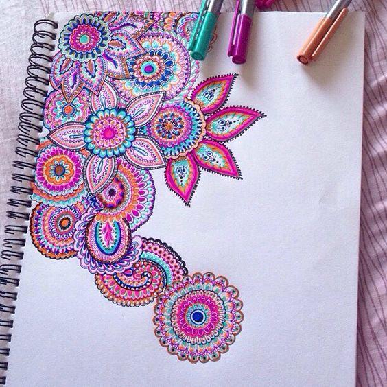 Mandala art SO FABULOUS