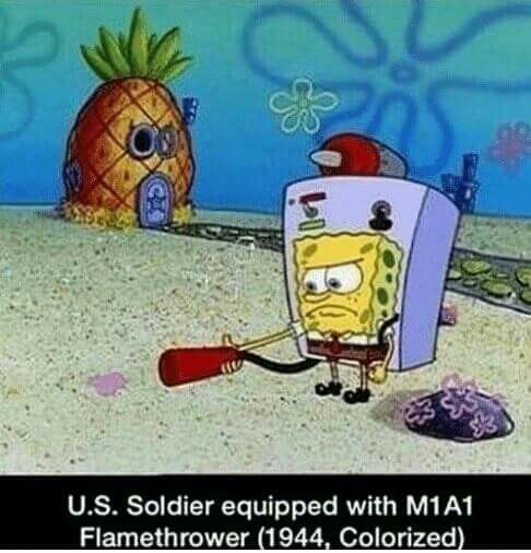 46++ Spongebob ww1 information