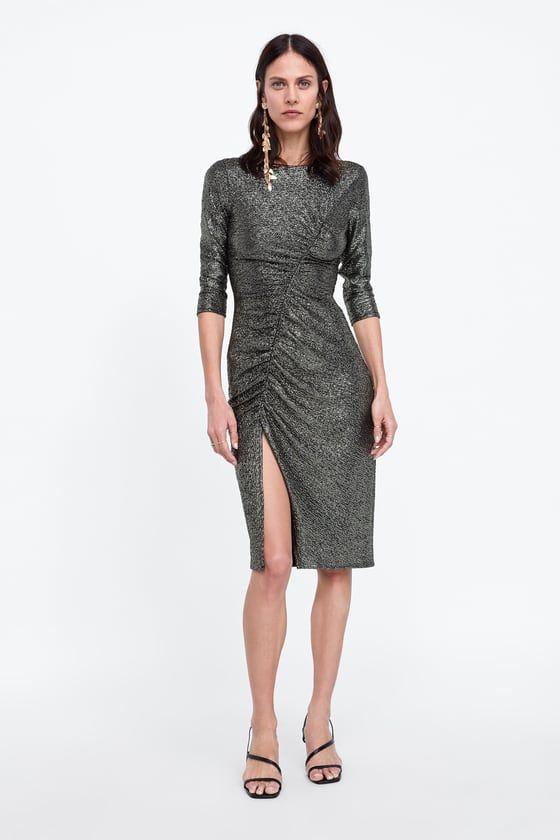 Robe Drapee Draped Dress Dresses Eve Outfit