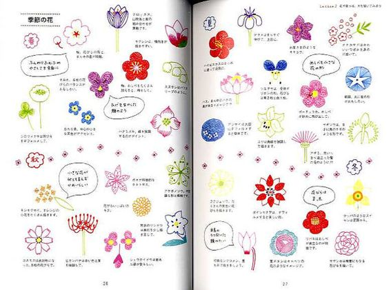 Cute Illustrations with Ball Point Pens Japanese by pomadour24