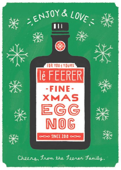 ryan feerer, holiday card