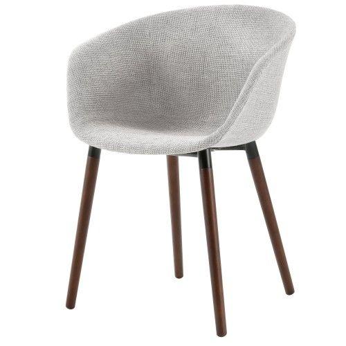 Chaise Dolly Gris Clair Chaise Design Chaise Et Chaise Nordique