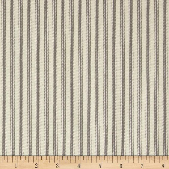 Ticking Stripe Woven Cotton And Valance Curtains On Pinterest