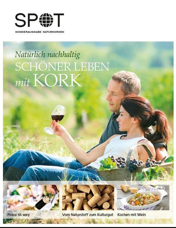 12-seitige Supplement für die Kampagne Natürlich Kork Mai 2012, Schaltung Tagesspiegel Berlin und Heilbronner Stimme