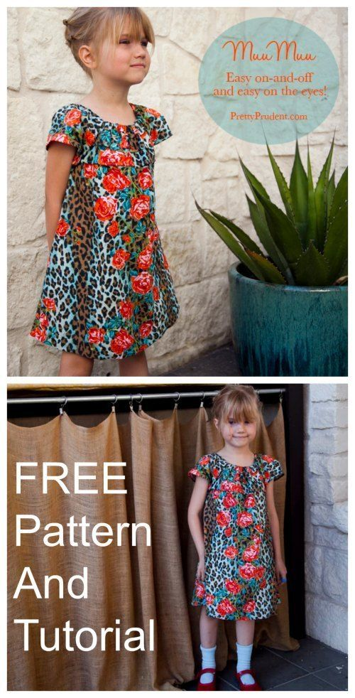 House Dress Tutorial And Free Pattern Dress Sewing Patterns Free