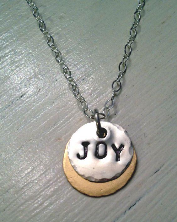 Joy Necklace by Bybella on Etsy, $42.00