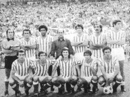 Alineación-Betis-Valencia-Liga-1980 - Fotos de La historia del Betis