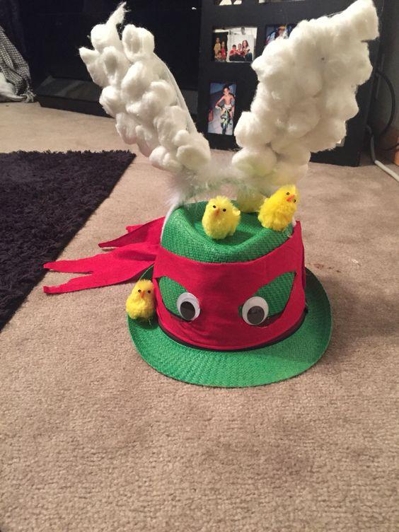 Teenage Mutant Ninja Turtle Easter Bunny Bonnet