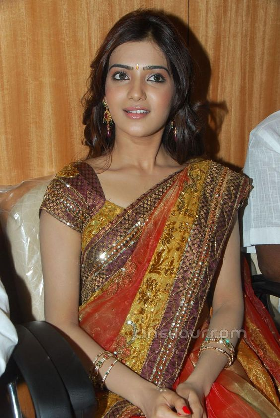 South Indian Sarees   ... Back to Samantha in Saree at South India Shopping Mall Next Image