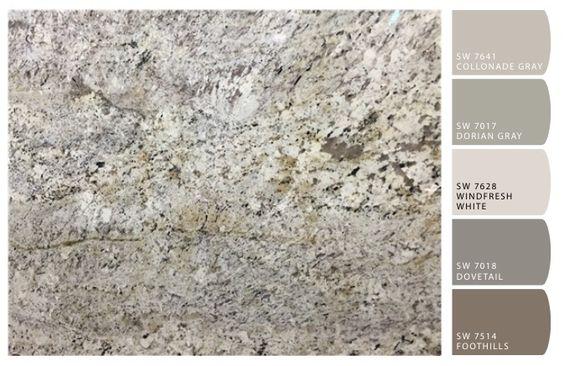 brown granite paint colors and granite on pinterest. Black Bedroom Furniture Sets. Home Design Ideas
