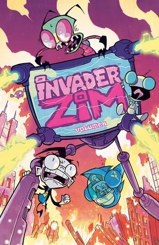 (Oni Press) From the far reaches of weird space to the incomprehensible world of underground art, ZIM is back! And his thirst for world domination has only grown!