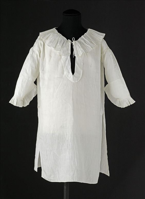 Chemise worn by Louis XVII, Louis Charles de France, Duke of Normandy, (1785–1795)