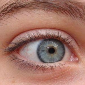 Grijze oogkleur