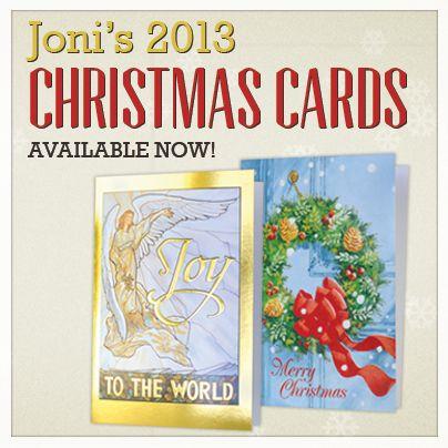 Joni Eareckson Tada's 2013 Christmas Cards are now ...