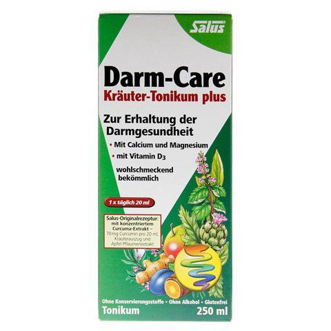 DARM-CARE Kräuter-Tonikum plus Salus 250 Milliliter - Vorderseite
