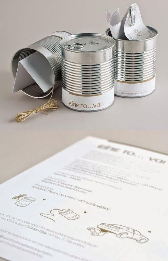 47 φανταστικές ιδέες για τα άδεια τενεκεδάκια - κονσερβοκούτια {Μέρος 2ο}…