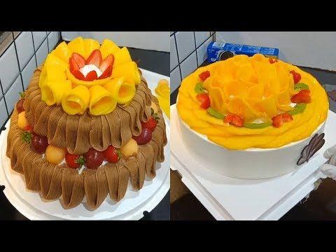 حيل تزيين الكيك بالبيت كالمحترفين بخطوات سهلة ومبسطة لكل ست بيت Youtube Cake Food Desserts