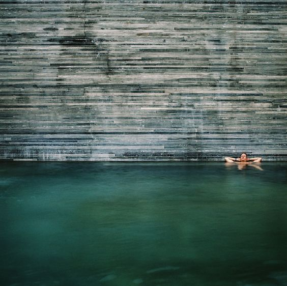 Poetry in Space: Vals Thermal Spa in Switzerland : Remodelista