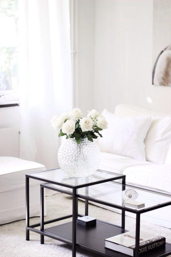 Living Room Coffee Table Decor Inspiration Interior Inspiration Minimalis
