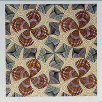 A series on Escher tesselations.