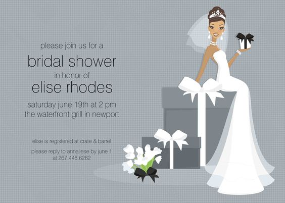 free bridal shower invitation templates – Examples of Wedding Shower Invitations