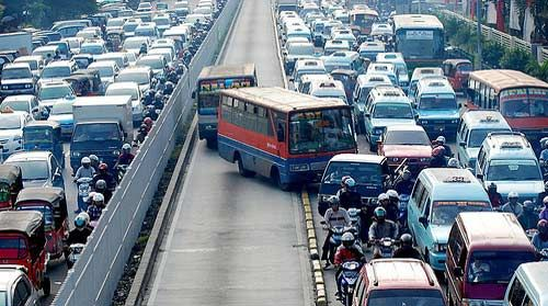 How To Survive The Traffic In Jakarta