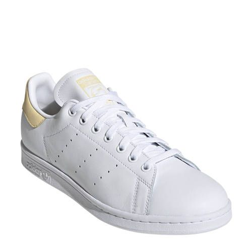 adidas Originals Stan Smith sneakers wit/geel in 2020