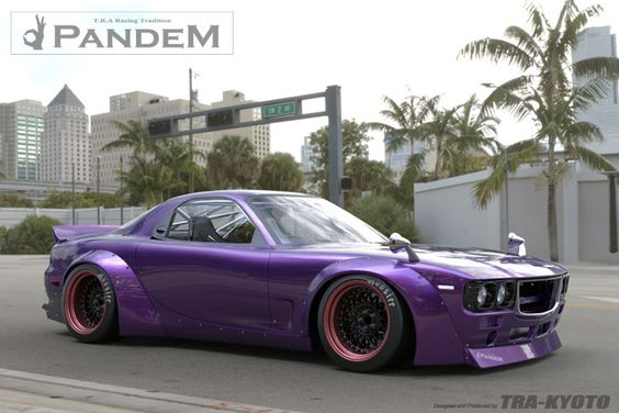 Pandem Boss Conversion Aero - Mazda RX7 (FD3S) - special order