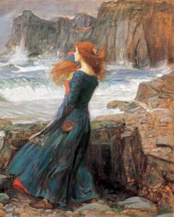 Sinann - Irish River Goddess in ancient Celtic mythology associated with the river Shannon, the longest river in Ireland which was sought out for its hazelnuts of wisdom.