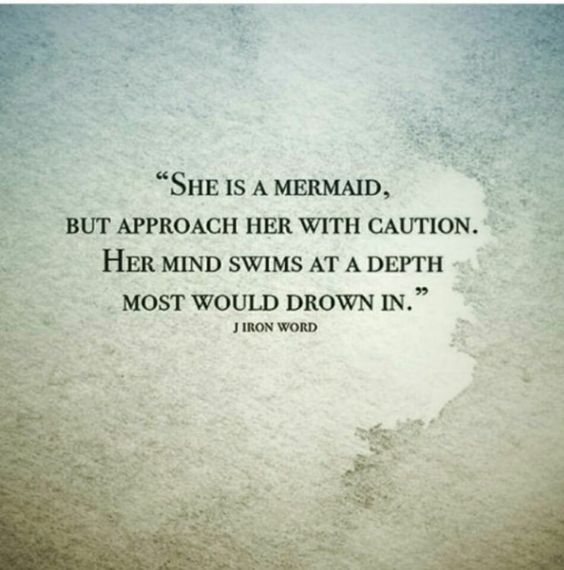 A mermaid