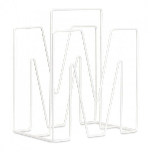 FASHION FOR HOME Zeitungsständer Furnitive Metall Weiß
