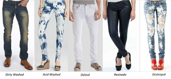 Tipos de lavagens do jeans: conheça alguns tipos