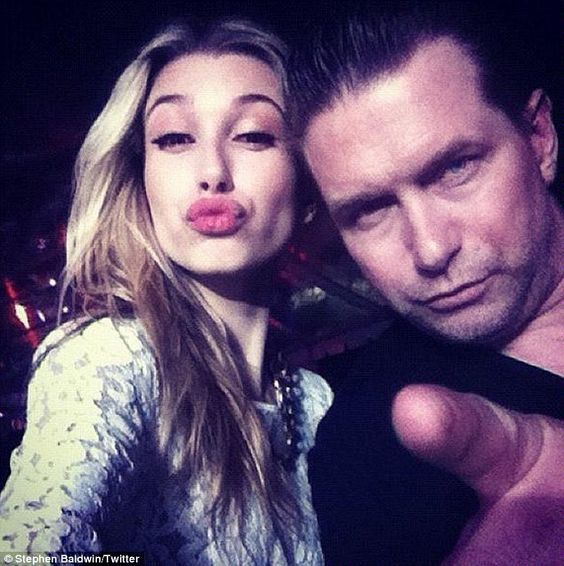 Famous daddy: The nepotistically-privileged socialite is the daughter of Stephen Baldwin, a born-again Christian evangelist best known for his 1995 role in The Usual Suspects