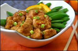 HG's Sweet & Sticky Orange Chicken