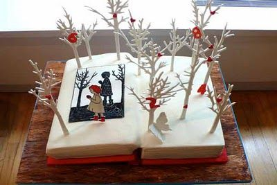 Book Cake by CAKE POWER Cakes: Big Cakes, Storybook Cakes, Amazing Cakes, Awesome Cakes, Kids Cakes, Kids Book, Open Book Cakes, Birthday Cake