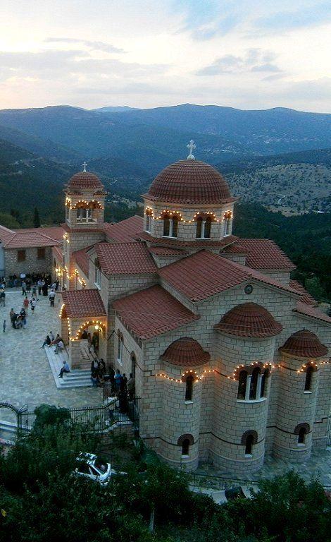 Monastery Panagia Malevi, Kynouria (Parnona mountain), Arcadia, Greece