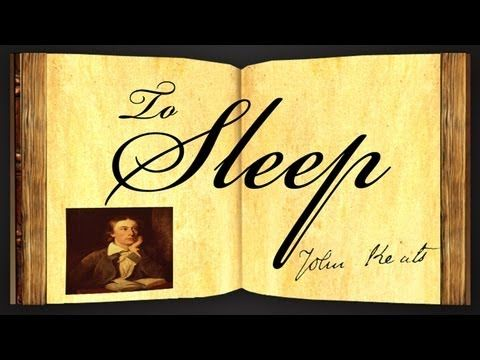 To Sleep by John Keats - Poetry Reading - YouTube