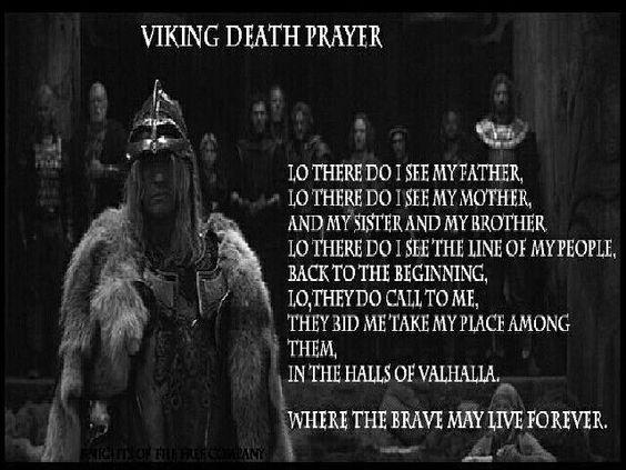 Viking Vikings Pinterest The old, Vikings and Prayer