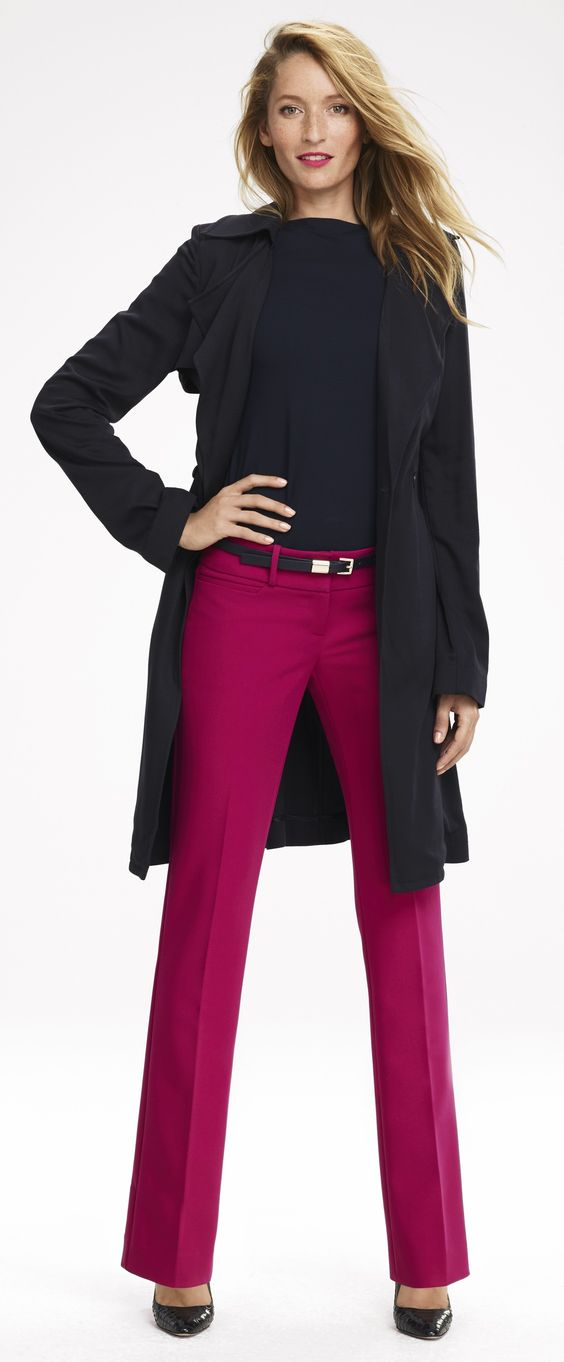 Power Color - Colorful pants are a powerful way to brighten your day.